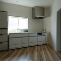 DKのリフォームです♪ #キッチン #床材張替え #壁紙張替え